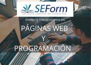 FORMACION PÁGINAS WEB Y PROGRAMACIÓN