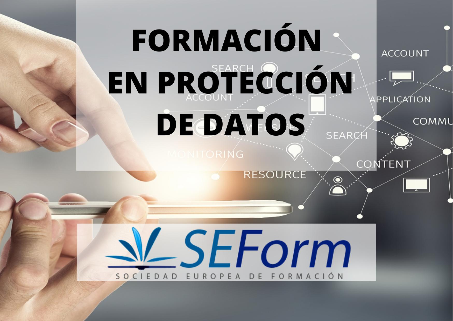 FORMACIÓN EN PROTECCIÓN DE DATOS